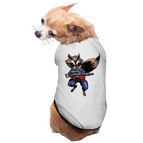 Dog Costume Rocket Raccoon Comics Doggie Shirt (Dog Raccoon Costume)