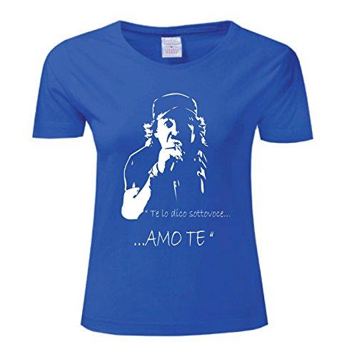 Art Blu Amote Maglietta Donna Rossi shirt Vasco T rgH7cw0qr