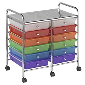 ECR4Kids Mobile Organizer with Drawers from ECR4Kids