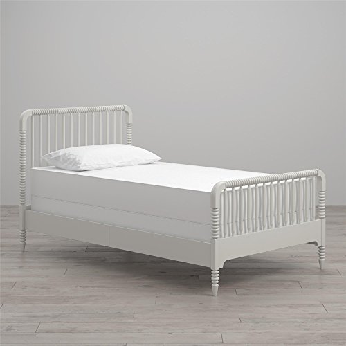 Little Seeds Rowan Valley Linden Twin Size Bed, White
