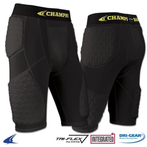 Champro Adult Tri-Flex Padded Short ( Adult-Medium - Tri Short