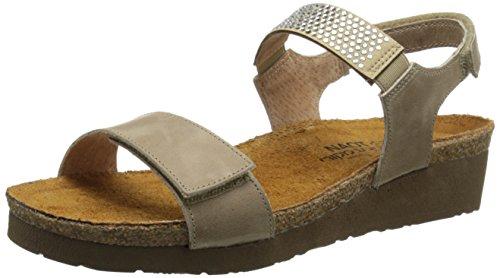 Khaki Lisa Beige Wedge Naot Women's Sandal ZIw0wvq