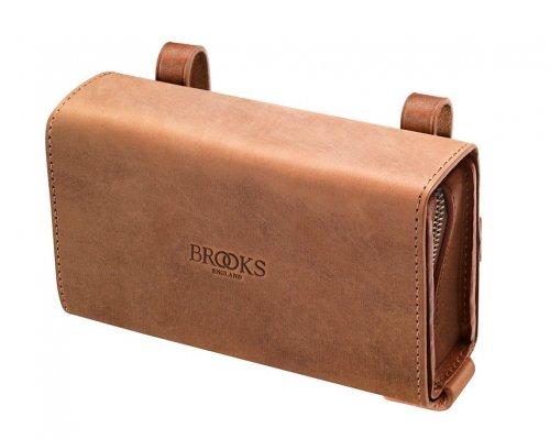 Brooks D-Shaped Tool Bag Sattel Tasche, D-Shaped Tool Bag Honig