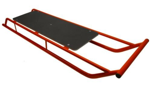 Snow Sledge / Toboggan / Sleigh with Wooden Top Bobsled / Bobsleigh TWIN VERSION by A B Tools