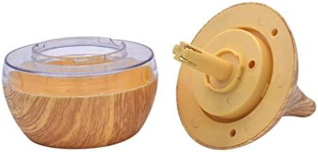 Sel-More Wood USB Feuchte Getreide 300ml LED Touch aromatherapie luftreiniger öl Aroma diffusor