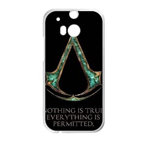 HTC One M8 phone case White Assassin's Creed DDRK5377779