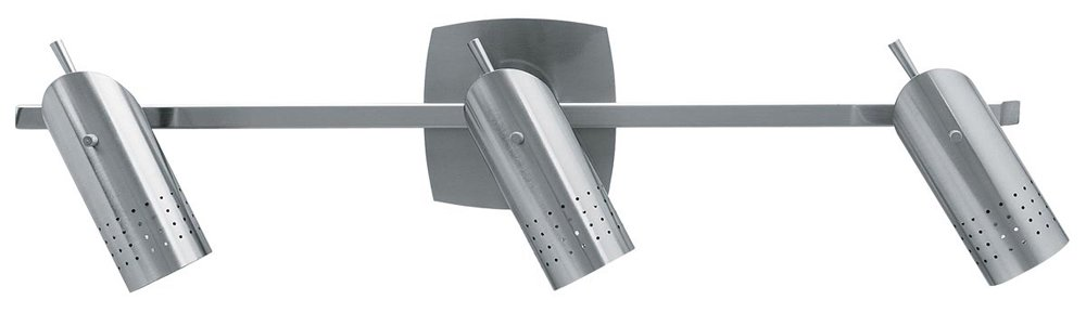 Access Lighting 52019-BSOdyssey 3-Light Ceiling/Wall Spotlight Rail, Brushed Steel