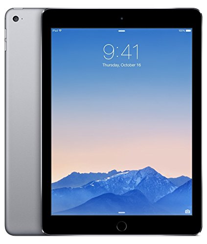 2014 Apple iPad Air 2 thinest with touch ID fingerprint reader retina display(64GB,Wifi,Space Gray) (Renewed) (Best Scanner App For Ipad Air)