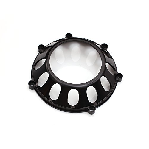 - CNC Billet Black Clutch Cover For Ducati Sport 620 750 800 Streetfighter S SuperSport 1000