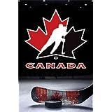"Hockey Canada Logo 24""x36"" Art Print Poster"