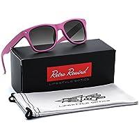 Kids Soft Feel Matte Frame Sunglasses AGE 3-12 - Variety of Frame Colors
