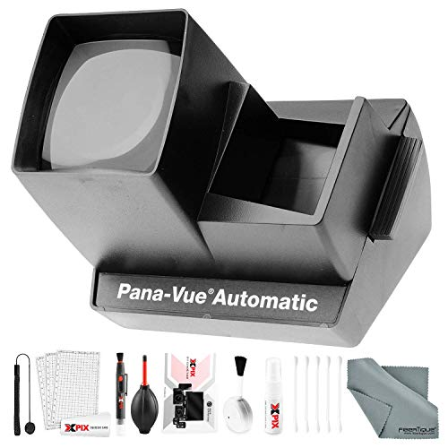 Pana-Vue 6566 Automatic Slide Viewer with Deluxe Cleaning Kit