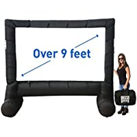 MEGA SCREEN MOVIE SCREEN – INFLATABLE PROJECTION SCREEN- PORTABLE HUGE OUTDOOR SCREEN - Over 9 DIAGONAL
