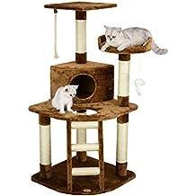 Go Pet Club Cat Tree,47.5-inch,Brown