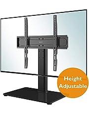 BONTEC Universal Soporte Altura Ajustable para TV Base del Televisor con la Pantalla 26-55 Pulgadas