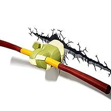 hotcoser® 3D FX LED Wall Deco. Night Light Teenage Mutant Ninja Turtles Weapon series (Donatello Bo Staff Sticks)