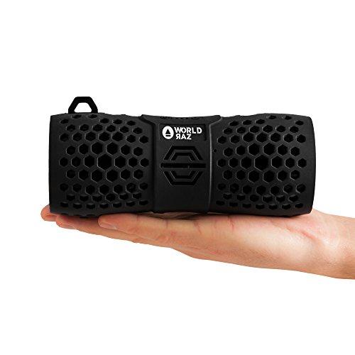 Bluetooth Lautsprecher WORLD RAZ 10 W power. Bluetooth Version 4.1 Kompatibel mit Android und iOS. Mobiler Bluetooth Speaker, shockproof mit eingebautem Freisprech-Mikrofon & Ultra klarem Sound, RAZ X6 tragbarer Lautsprecher für Handys, Smartphones, PC. Bluetooth box