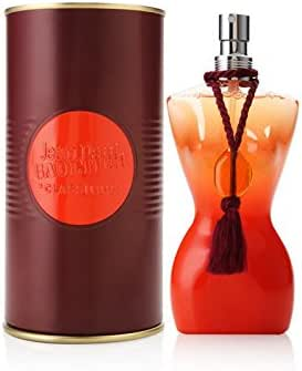Jean Paul Gaultier Classique Summer Fragrance by Jean Paul Gaultier for Women Sultry Peach Dress & Tassle 2002 Edition - 3.3 oz Eau D'ete Parfumee Alcohol-Free Natural Spray