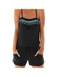 LISTHA Women Jumpsuit Romper Mini Playsuit Ladies Shorts Dress Pants