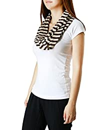 FandS Cape May Stripe Infinity Scarf | Wrap | Multi Colors