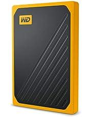 WD My Passport Go Bärbar SSD 500 GB Bärnsten