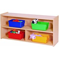 Steffy Wood Products Toddler 2-Shelf Storage