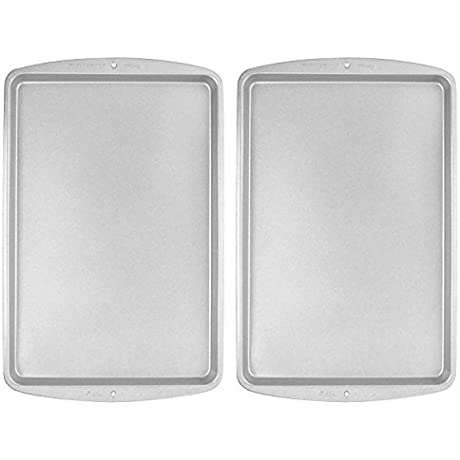 Wilton Recipe Right Medium Cookie Pan 15 1 4 X 10 1 4 Inch Pack Of 2 Pans