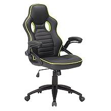 ViscoLogic® Series GT-2000 Gaming Racing Swivel Office Chair (Black)