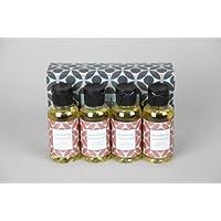 Rainbow Mandarin Rosewood Fragrances (Pack of 4)