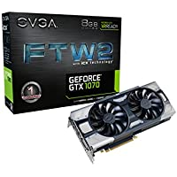 EVGA GeForce GTX 1070 FTW2 GAMING iCX 8GB Graphics Card
