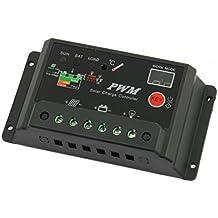 DealMux CMTR-20A Solar Panel Battery Regulator Charge Controller, 24V