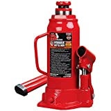 Torin Big Red Hydraulic Bottle Jack, 10 Ton Capacity