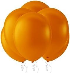 "Creative Balloons 12"" Latex Balloons - Pack of 144 Piece - Pastel Orange"