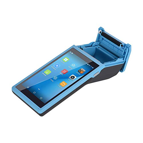 All in One Handheld PDA Printer Smart POS Terminal Wireless Portable Printers Intelligent Payment Terminal Function BT/WiFi/USB OTG/ 3G Communication