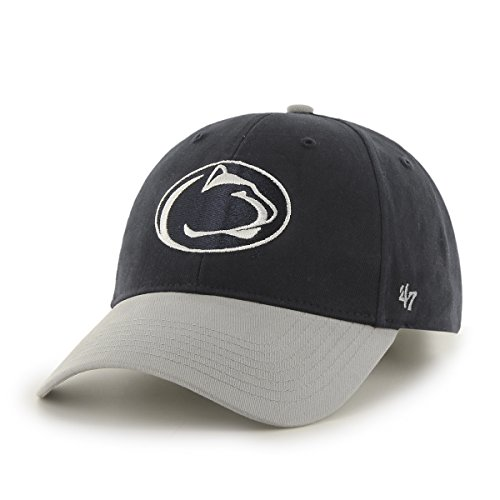 NCAA Penn State Nittany Lions Kids Short Stack '47 MVP Adjustable Hat, Infant, Navy