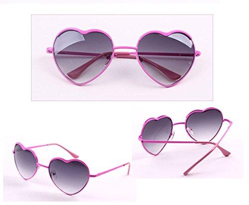 en 5 corazón Gafas de moda UV de amp; de 6 LYM de gafas amp;Gafas de Gafas sol protecciónn X51 Protección sol sol forma de Color Mujeres w0pvI4q