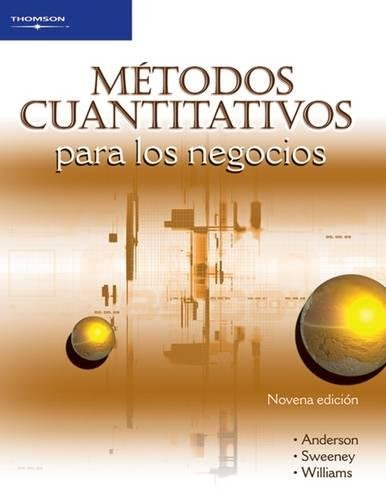 metodos cuantitativos para los negocios/ Quantitative Methods For Business