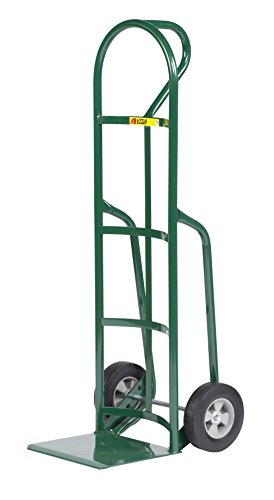 Little Giant T-240-8S Reinforced Nose Plate Hand Truck with Loop Handle, 800 lb Capacity, 12