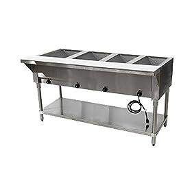 Advance Tabco HF-4E-120 120V Electric Hot Food Table