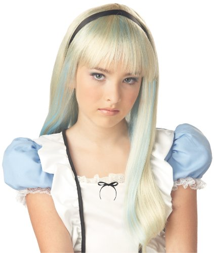 Alice in Wonderland Child Wig (Alice In Wonderland Childrens Costumes)