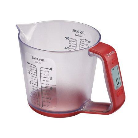 Digital Measuring Cup Scale - Taylor Precision Products Digital Measuring Cup and Scale