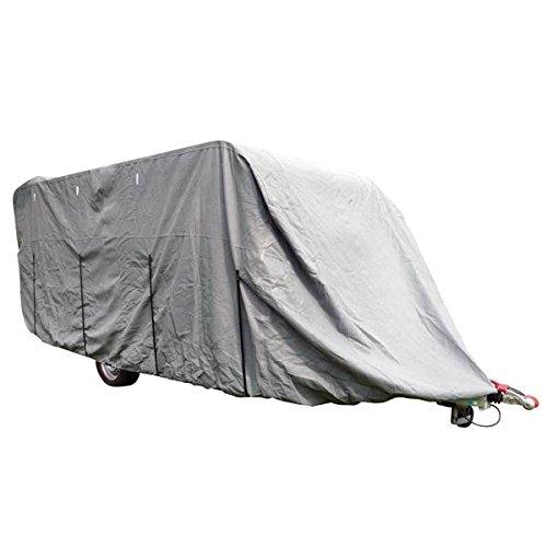 Carpoint 1723471 Caravan Schutzabdeckung bis zu 5, 5 m Lä nge (W: 2, 50 x H: 2, 20 m) Sonstige