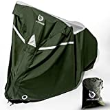 YardStash Waterproof Bike Cover | Outdoor Bicycle Storage Tarp for 1, 2 or 3 Bikes | Shelter from All Weather: Rain, Wind, Snow for Mountain Road Dirt Bikes Tricycles Motorcycles & Moped Scooters