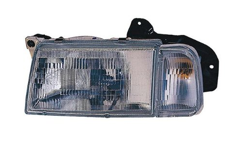 30020200 Headlamp (Driver and Passenger Side Replacement Headlight)