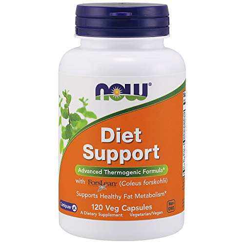 NOW Supplements, Diet Support with ForsLean® (Coleus forskohlii), 120 Veg Capsules