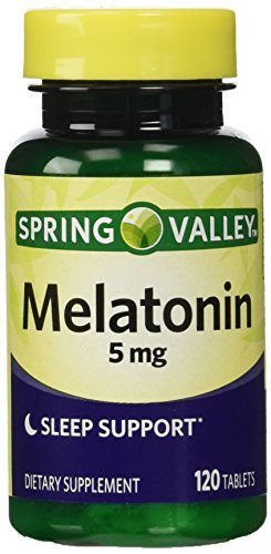 Amazon.com : Spring Valley Melatonin 5mg Twin Pack (Two 120ct bottles) by Spring Valley : Baby