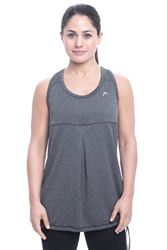 Penn Womens Herringbone Blouson Athletic Performance Tank Top - Medium