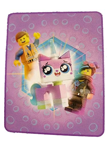 LEGO Movie Unikitty Silky Soft Throw Blanket