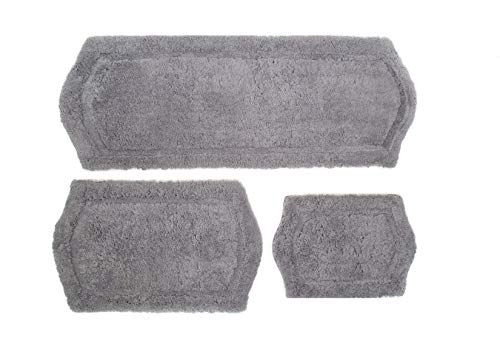 Chesapeake Merchandising Paradise Memory Foam 3 pc Bath Rug Set, 22