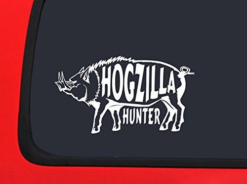 hog hunting window decals - 5